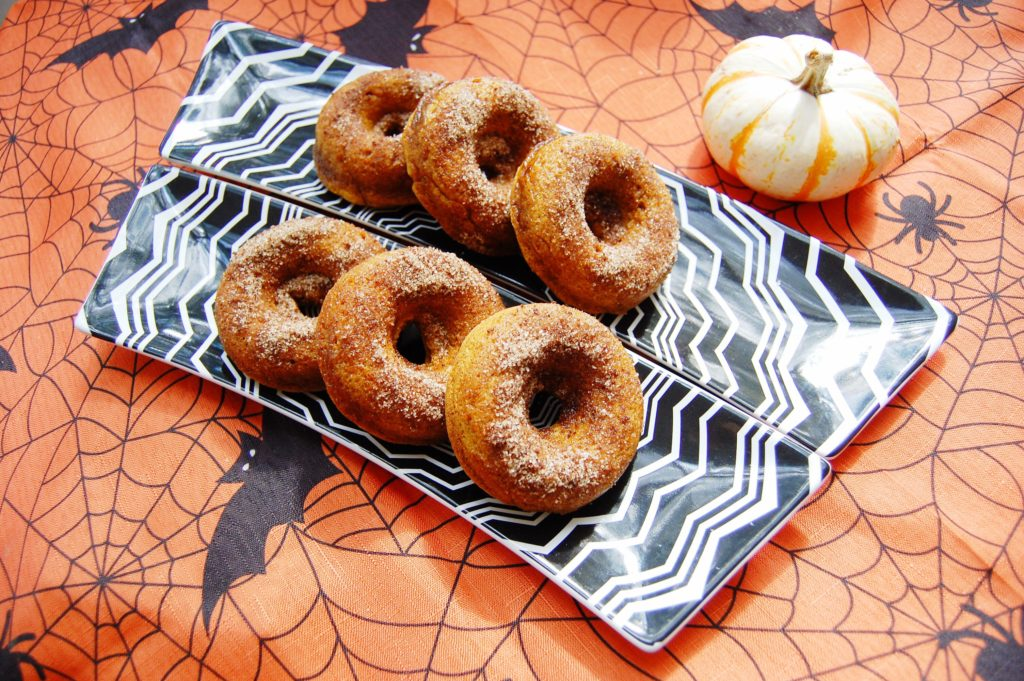 Top 8 Free Pumpkin Spice Donuts - Namaste